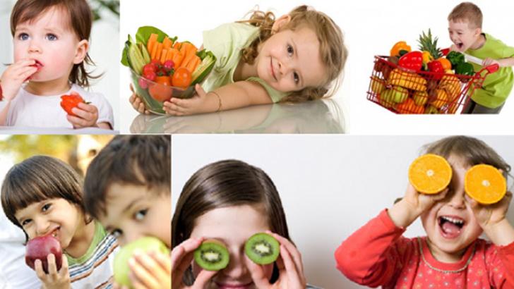 Μάθετε τα παιδιά σας να τρώνε φρούτα