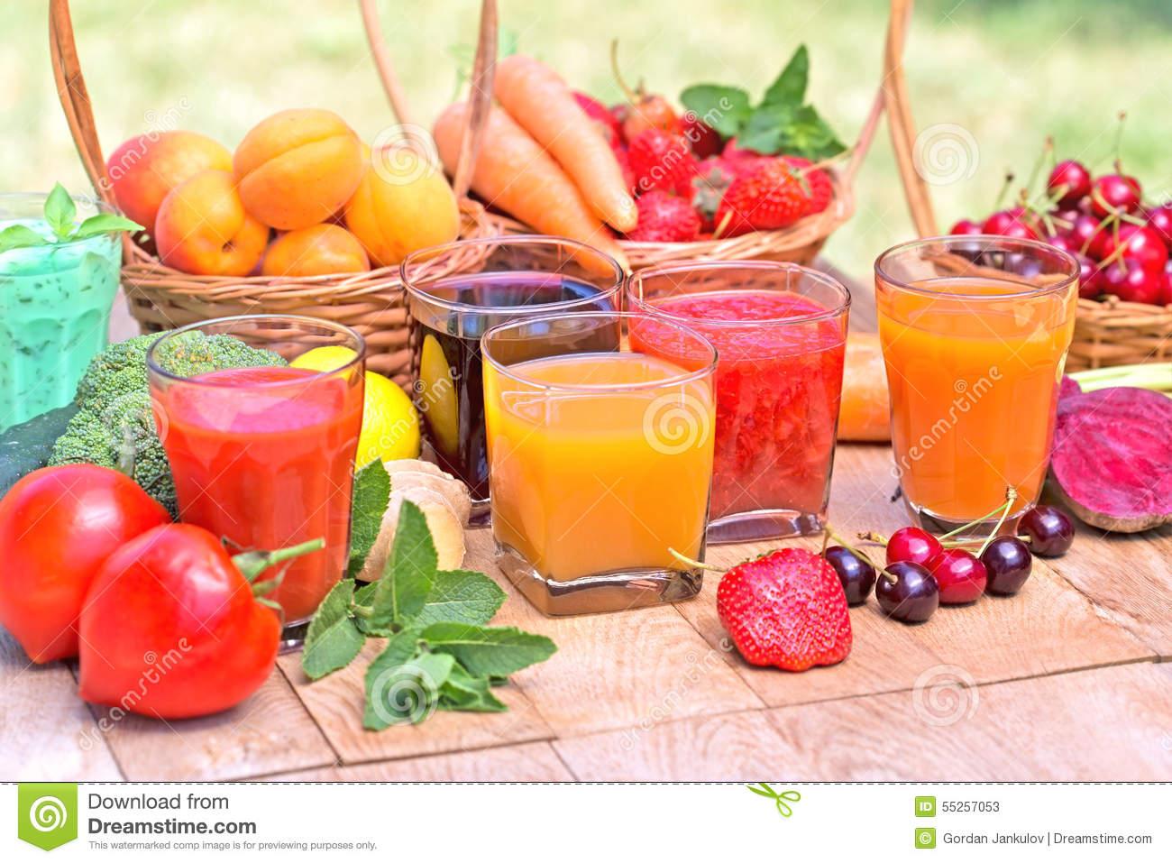 Χυμός φρούτων ή φρούτα? Σαλάτα ή σάντουιτς λαχανικών ?