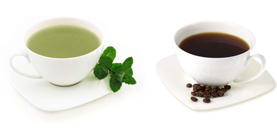 Καφέ Vs Τσάι