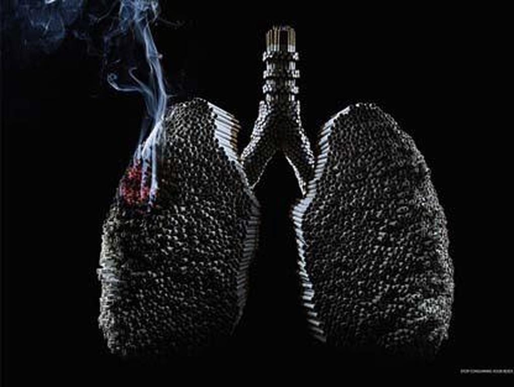 Οι συνέπειες του καπνίσματος για  τους πνεύμονες