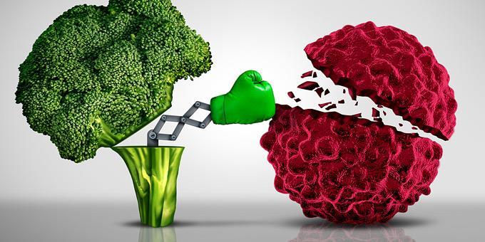 Οι τροφές που είναι πλούσιες σε αντιοξειδωτικά και έχουν αντικαρκινική δράση
