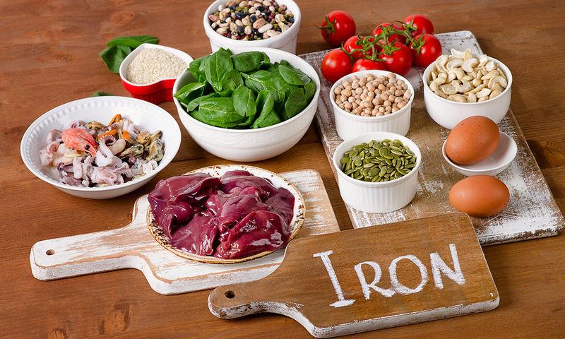 Συνδυασμοί τροφών για την καλύτερη απορρόφηση σιδήρου